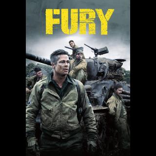 Fury 4K Vudu / MoviesAnywhere