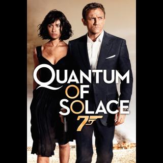 Quantum of Solace HD Vudu