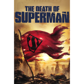 The Death of Superman 4K Movies Anywhere