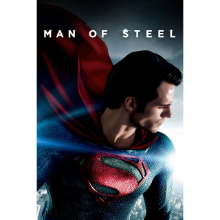 Man of Steel HD Vudu / MoviesAnywhere