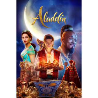Aladdin 4K MoviesAnywhere FULL DISNEY CODE