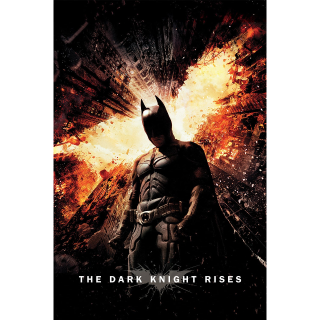 The Dark Knight Rises HD Vudu / MoviesAnywhere