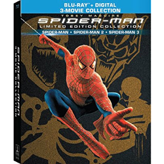 Spider-man trilogy Spider-man / Spider-Man 2 & Extended / Spider-Man 3 & Editors HD Vudu / MoviesAnywhere