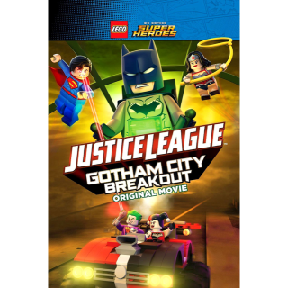 LEGO DC Comics Super Heroes: Justice League - Gotham City Breakout HD Vudu / MoviesAnywhere