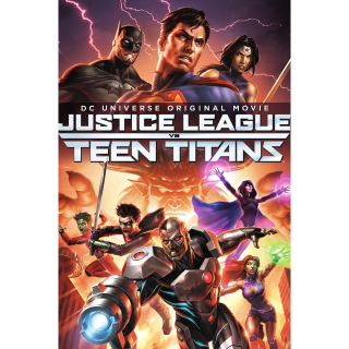 Justice League vs. Teen Titans HD VUDU / Movies Anywhere