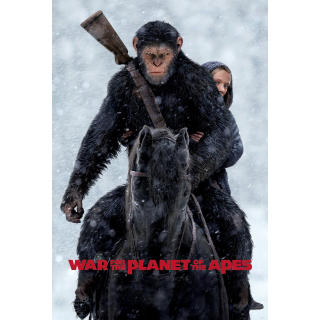 War for the Planet of the Apes HD Vudu / MoviesAnywhere