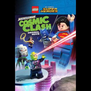 LEGO DC Comics Super Heroes: Justice League: Cosmic Clash HD VUDU / Movies Anywhere