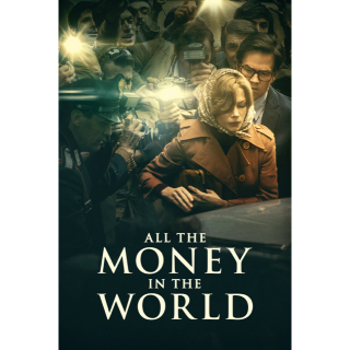 All the Money in the World SD Vudu / MoviesAnywhere