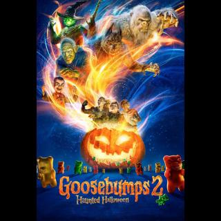 Goosebumps 2: Haunted Halloween HD Vudu / MoviesAnywhere