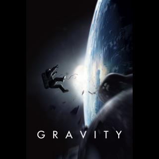 Gravity HD VUDU / Movies Anywhere