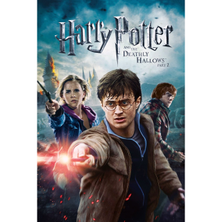 Harry Potter and the Deathly Hallows: Part 2 4K Vudu / MoviesAnywhere