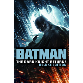 Batman: The Dark Knight Returns Part 1 & 2 (Deluxe Edition) HD VUDU / Movies Anywhere