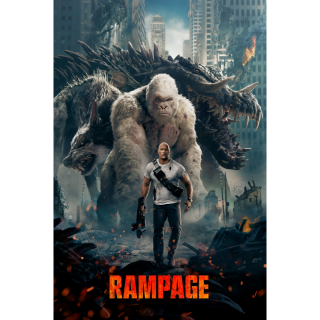 Rampage HD VUDU / Movies Anywhere