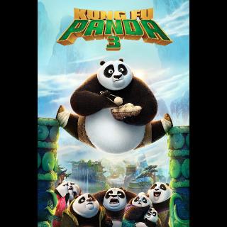 Kung Fu Panda 3 HD Vudu / MoviesAnywhere / iTunes