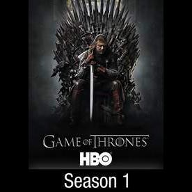 Game of thrones The Complete First Season 1 HD Vudu hbodigitalhd.com itunes