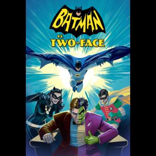 Batman vs. Two-Face HD Vudu / MoviesAnywhere