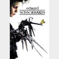 Edward Scissorhands HD Vudu / MoviesAnywhere