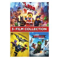 The LEGO Movie 3-Film Collection HD VUDU / Movies Anywhere