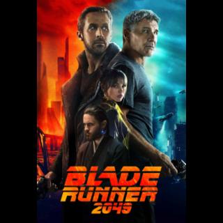 Blade Runner 2049 HD Vudu / MoviesAnywhere