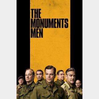 The Monuments Men SD Vudu / MoviesAnywhere