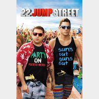 22 Jump Street SD Vudu / MoviesAnywhere