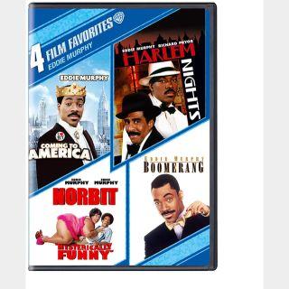 4 Film Favorites Eddie Murphy SD VUDU