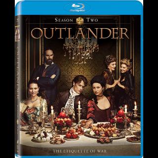 Outlander Season 2 SD VUDU