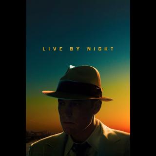 Live by Night HD Vudu / MoviesAnywhere
