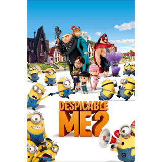 Despicable Me 2 HD Vudu / MoviesAnywhere / iTunes