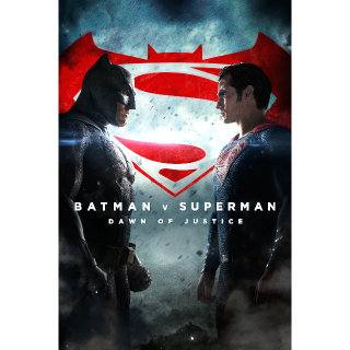 Batman v Superman: Dawn of Justice Ultimate Edition HD Vudu / MoviesAnywhere