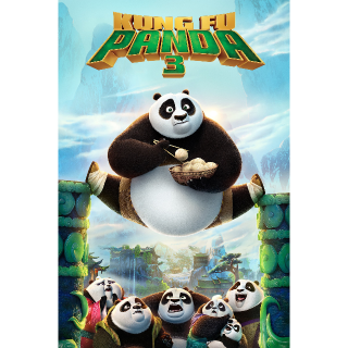 Kung Fu Panda 3 HD Vudu / MoviesAnywhere / iTunes