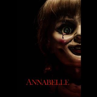 Annabelle HD VUDU / Movies Anywhere
