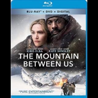 The Mountain Between Us HD Vudu / MoviesAnywhere