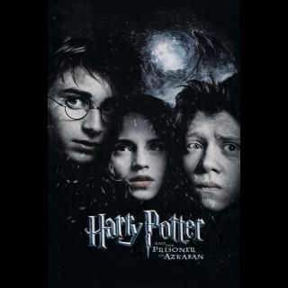 Harry Potter and the Prisoner of Azkaban HD VUDU / Movies Anywhere
