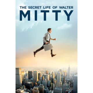 The Secret Life of Walter Mitty HD Movies Anywhere / VUDU
