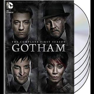 Gotham Complete First Season Vudu