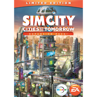 SimCity™: Cities of Tomorrow DLC Origin USA ACTUAL CODE