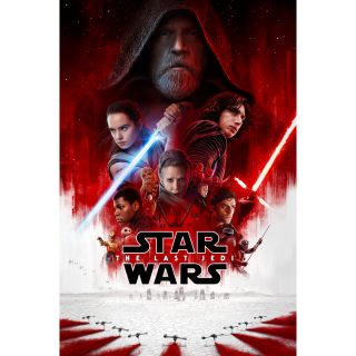 Star Wars: The Last Jedi HDX Movies Anywhere / VUDU