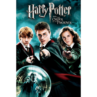 Harry Potter and the Order of the Phoenix HD Vudu / MoviesAnywhere