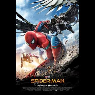 Spider-Man: Homecoming HDX VUDU / Movies Anywhere