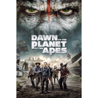 Dawn of the Planet of the Apes HD Vudu / MoviesAnywhere