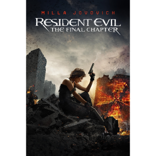 Resident Evil: The Final Chapter HD Vudu / MoviesAnywhere