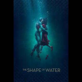 The Shape of Water HD VUDU / Movies Anywhere