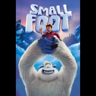 Smallfoot HD Vudu / MoviesAnywhere