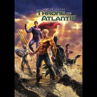 Justice League: Throne of Atlantis HD VUDU / Movies Anywhere