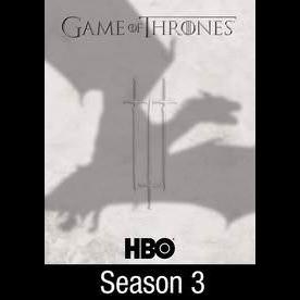 Game of Thrones The Complete Third 3rd Season HD Vudu / itunes hbodigitalhd.com