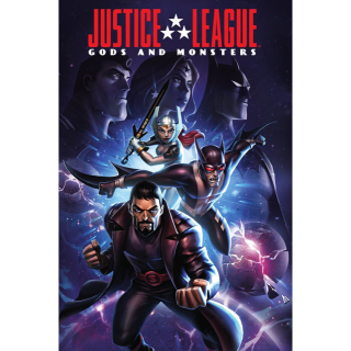 Justice League: Gods and Monsters HD VUDU / Movies Anywhere