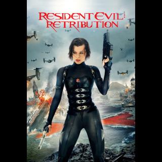 Resident Evil: Retribution SD VUDU / Movies Anywhere