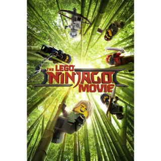 The LEGO Ninjago Movie HD Movies Anywhere / VUDU