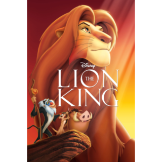 The Lion King 4K Moviesanywhere